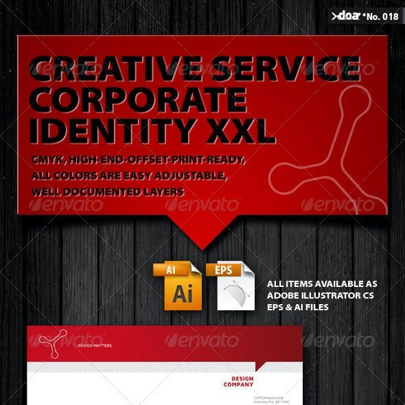 Creative Service Corporate Identity XXL