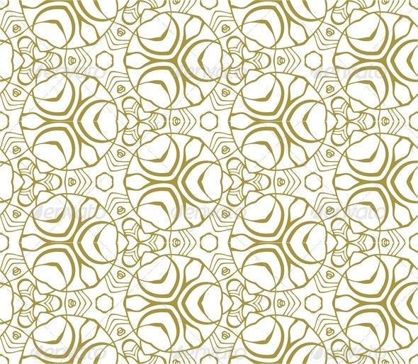 Seamless Monochrome Pattern - Patterns Decorative