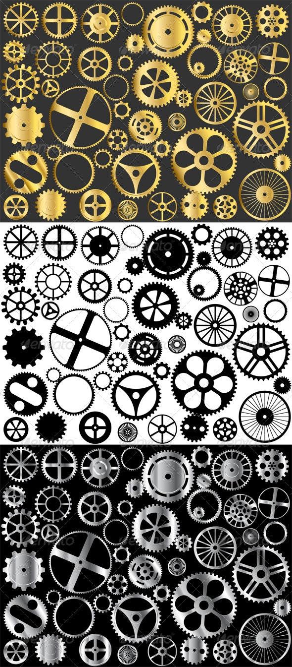 Gears - Man-made Objects Objects