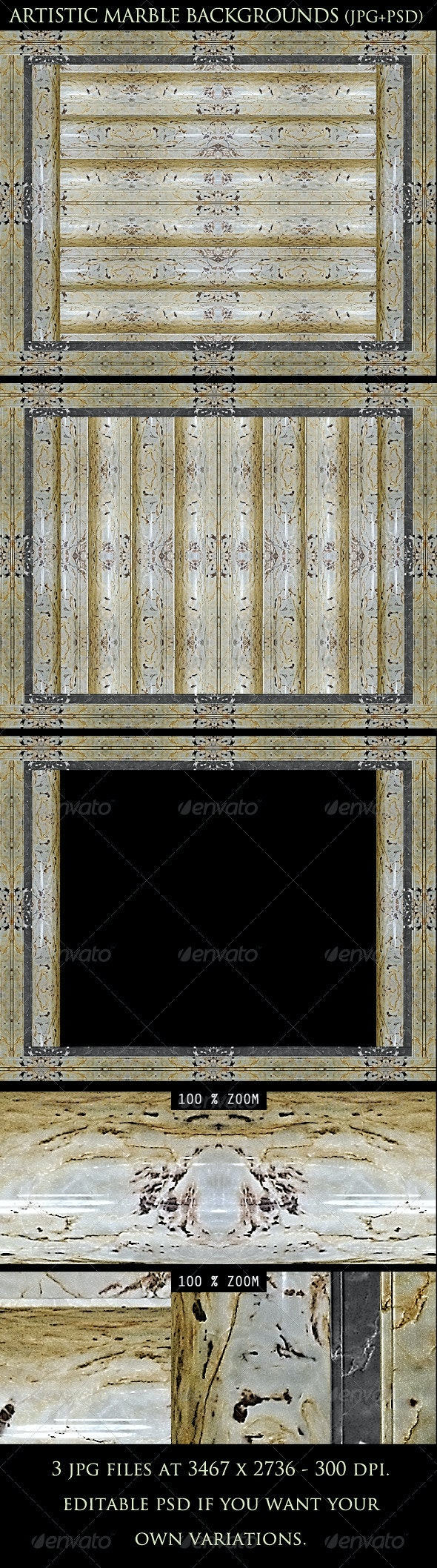 Artistic Marble Backgrounds - Patterns Backgrounds