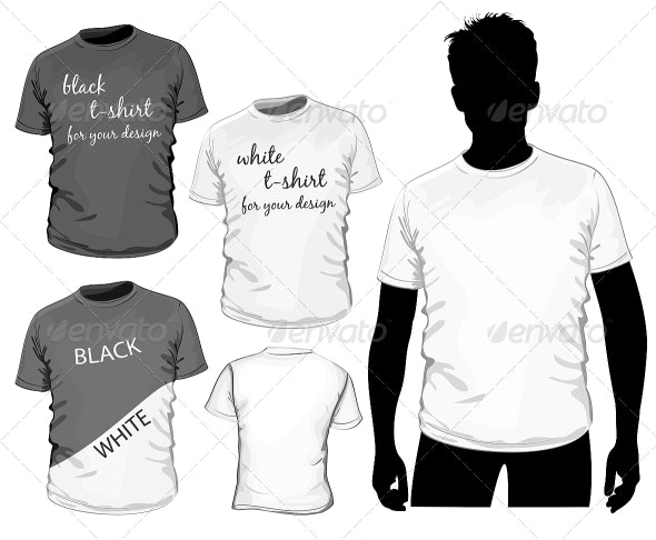 Vector T-shirt Design - Man-made Objects Objects