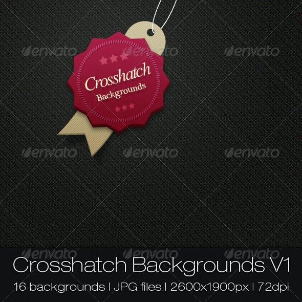 Crosshatch Backgrounds V1