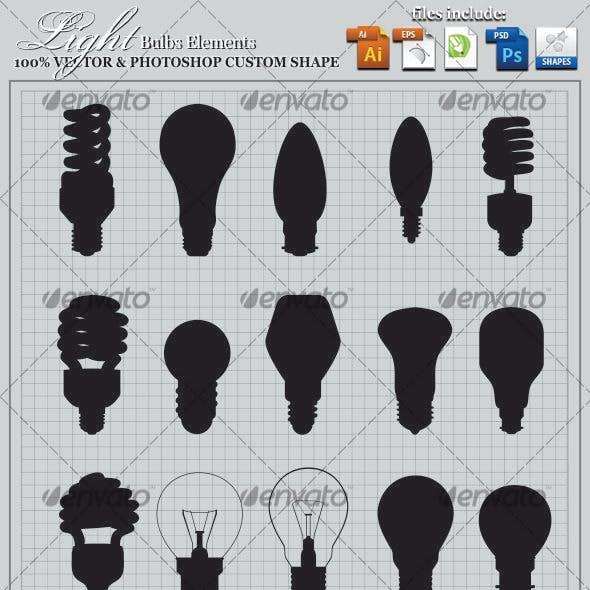 Light Bulbs Elements