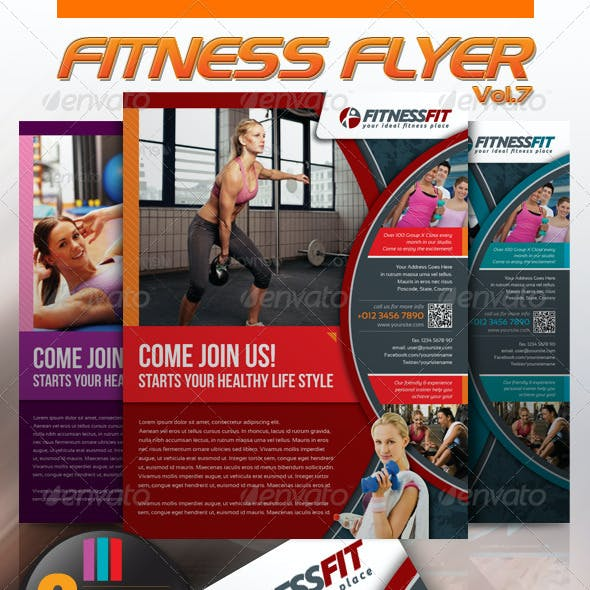 Fitness Flyer Vol.7