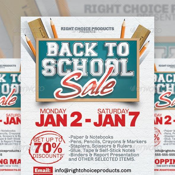 Shopping Week Flyer