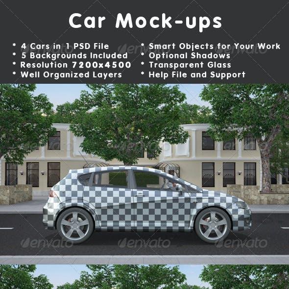 Car Mockups v2