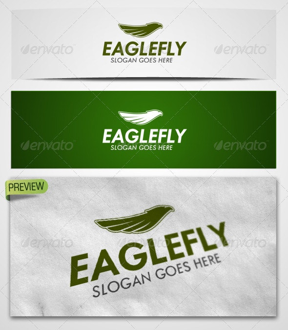 Logo Eaglefly Templates - Animals Logo Templates