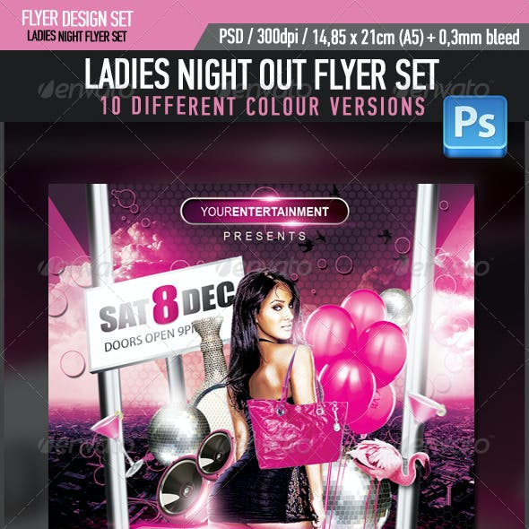 Ladies Night Out Flyer