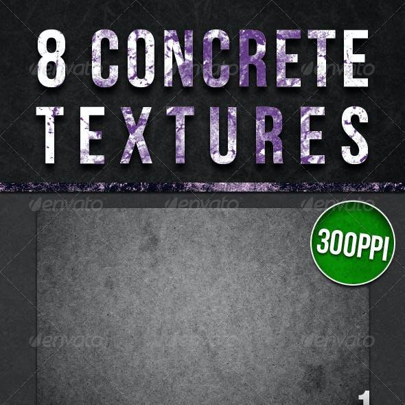 8 Concrete Textures