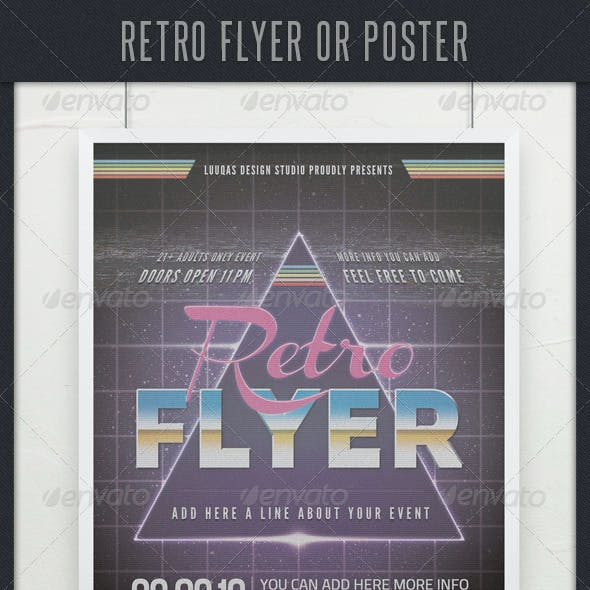 Retro Flyer