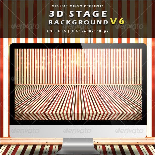 3D Stage Background - Vol.6