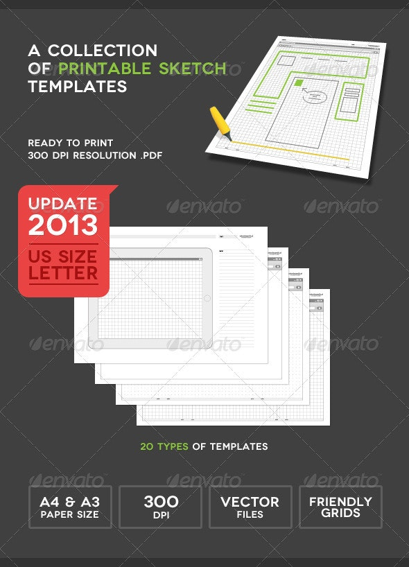 Printable Sketch Templates