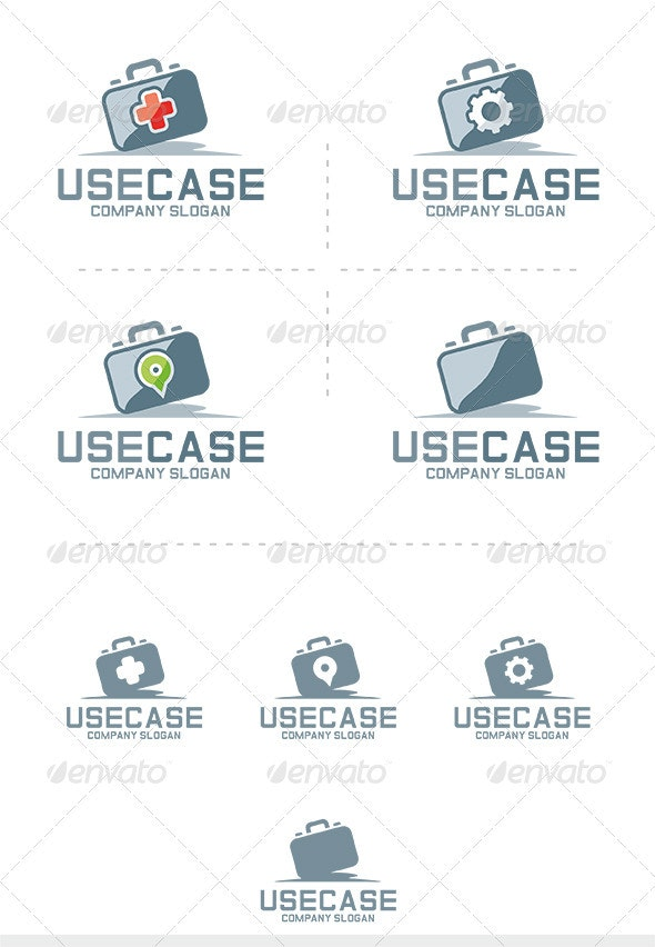 Use Case Logo - Symbols Logo Templates