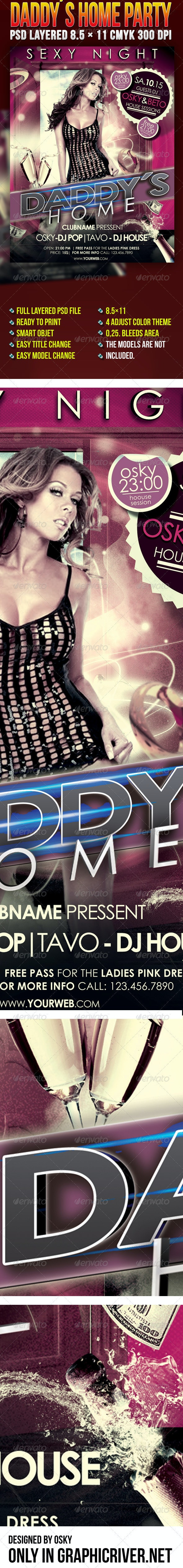 Daddys Home Party - Clubs & Parties Events