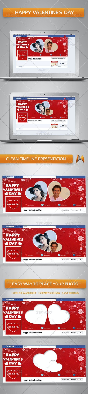 Happy Valentine's Day - Facebook Timeline Covers Social Media