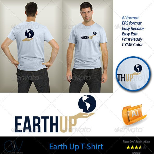 Earth Up T-Shirt