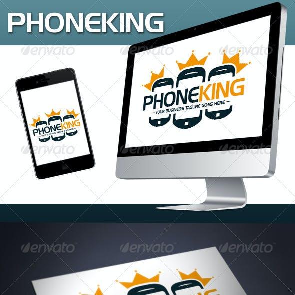Phone King Logo Template