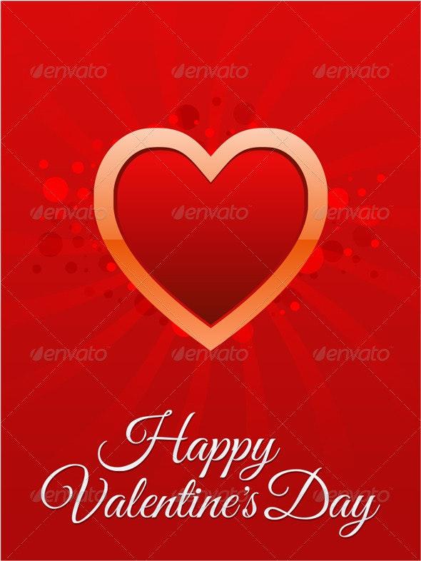 Happy Valentine's Day card - Valentines Seasons/Holidays