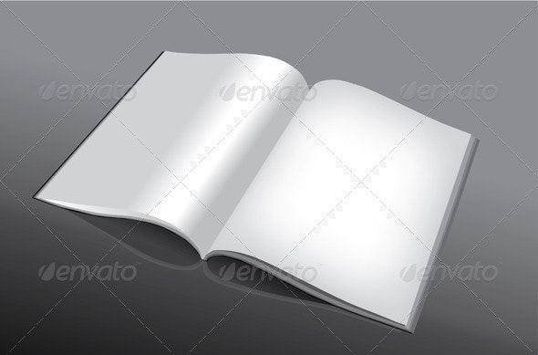 Open and Empty Book - Business Conceptual