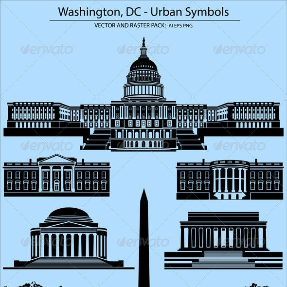 Washington, DC - Urban Symbols