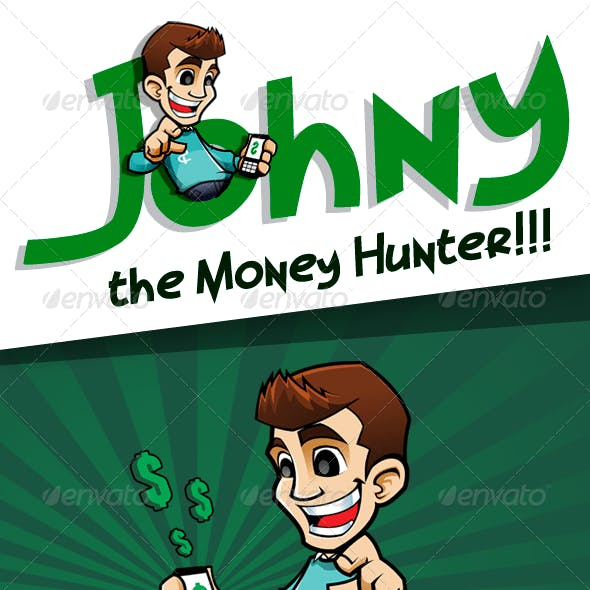 Johny the Money Hunter - Teen Character