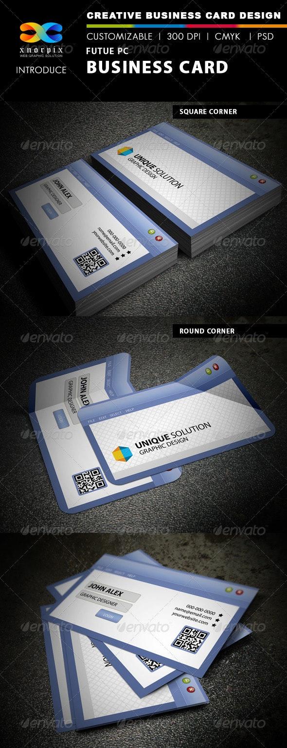 Future PC business Card - Creative Business Cards