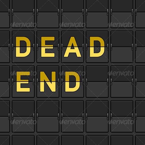 Dead End Flip Board