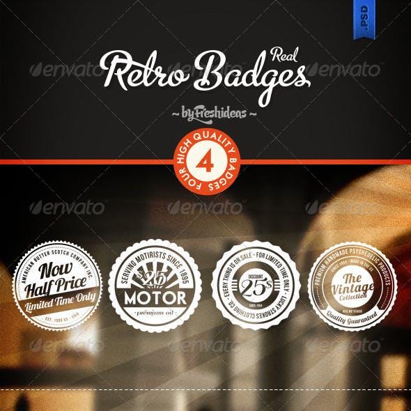 Retro Badges - Insignias