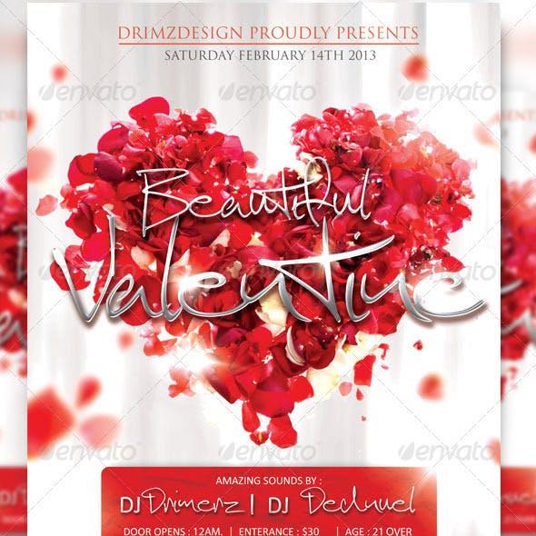 Beautiful Valentine Flyer