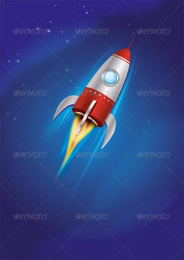 Rocket - Man-made Objects Objects