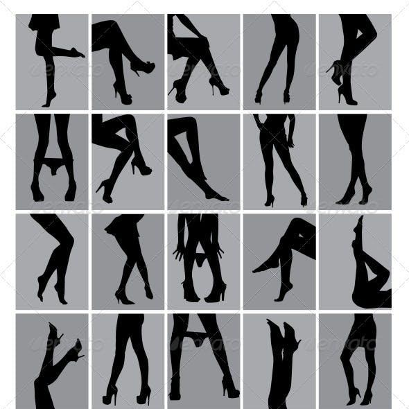 Legs Silhouettes