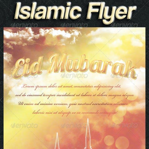 Eid Greeting Flyer/Card