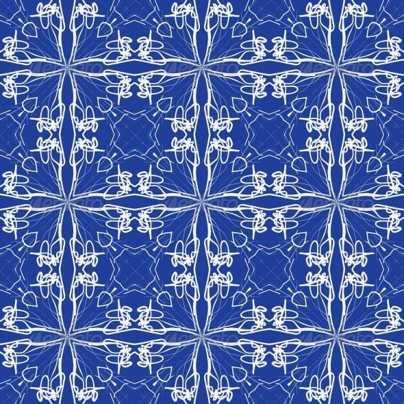 Mediterranean Seamless Vector Tiles Design - Patterns Decorative