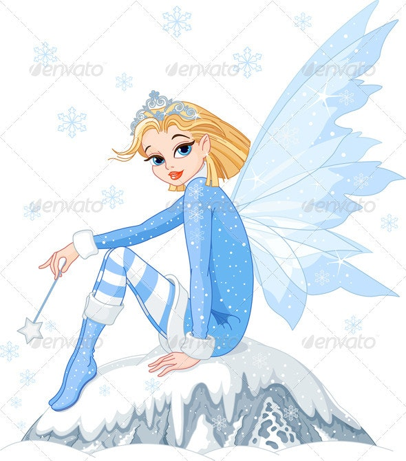 Winter fairy - People Characters