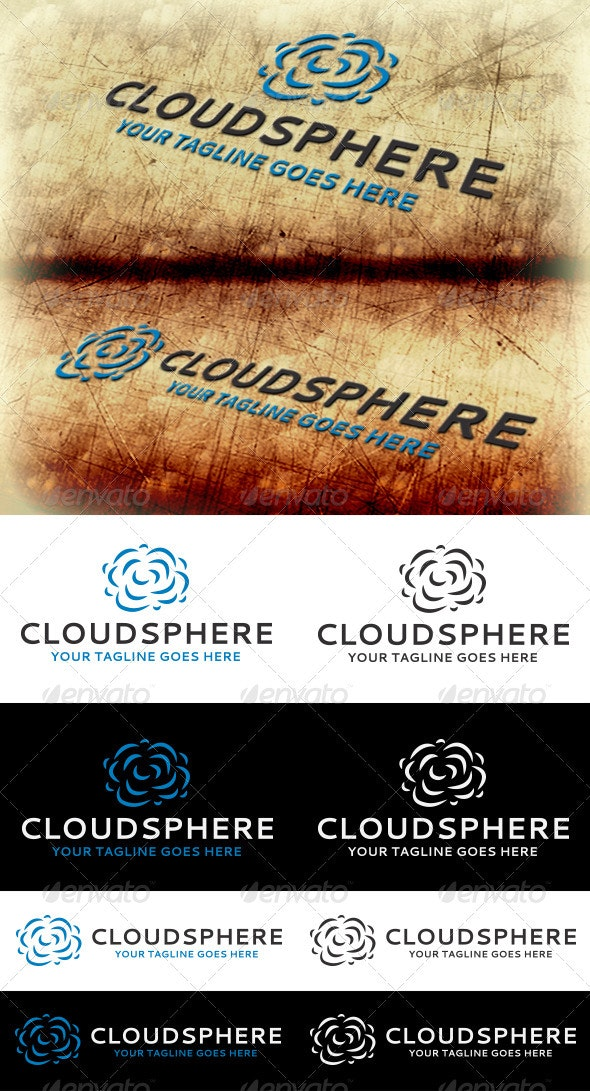 Cloudsphere Logo Template - Abstract Logo Templates