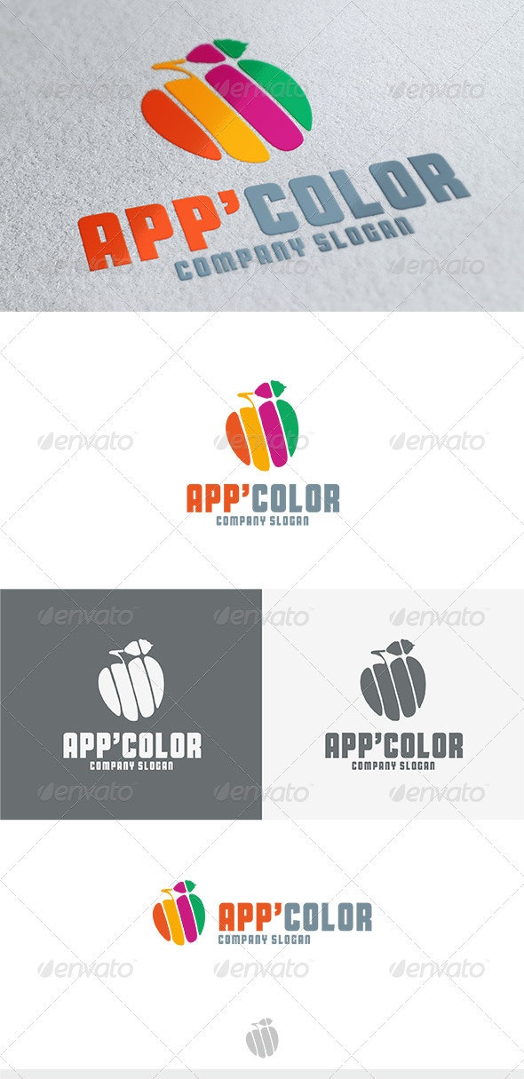 App Color Logo - Nature Logo Templates