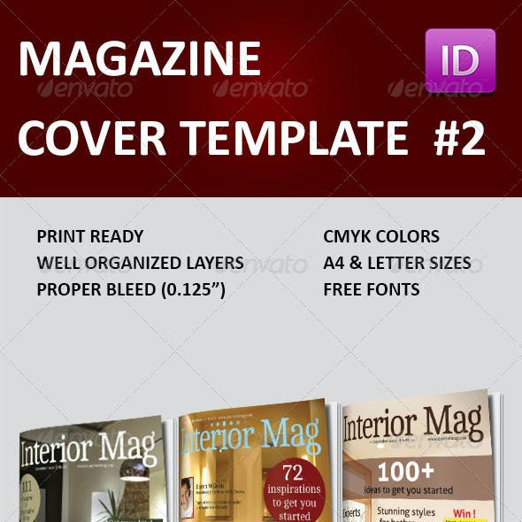 Magazine Cover Templates Vol 2
