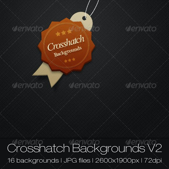 Crosshatch backgrounds V2