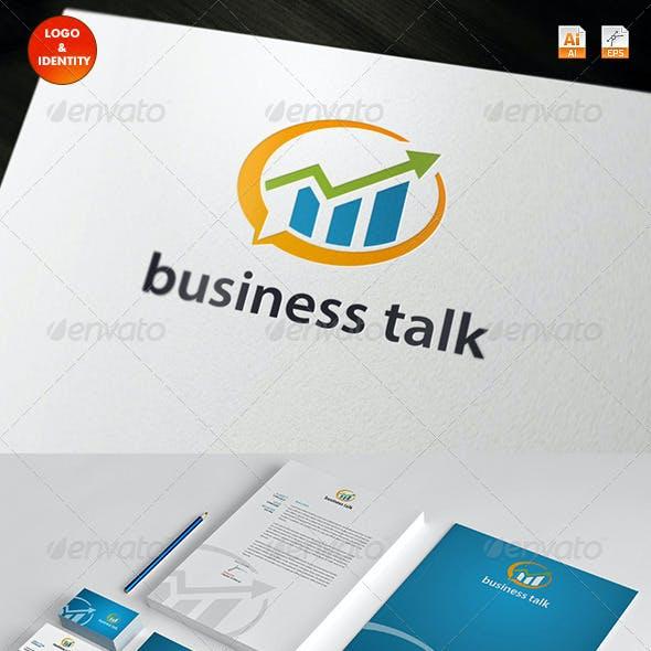 Business Talk Logo & Identity