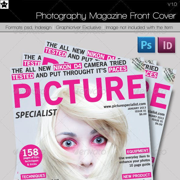 Photography Magazine Front Cover