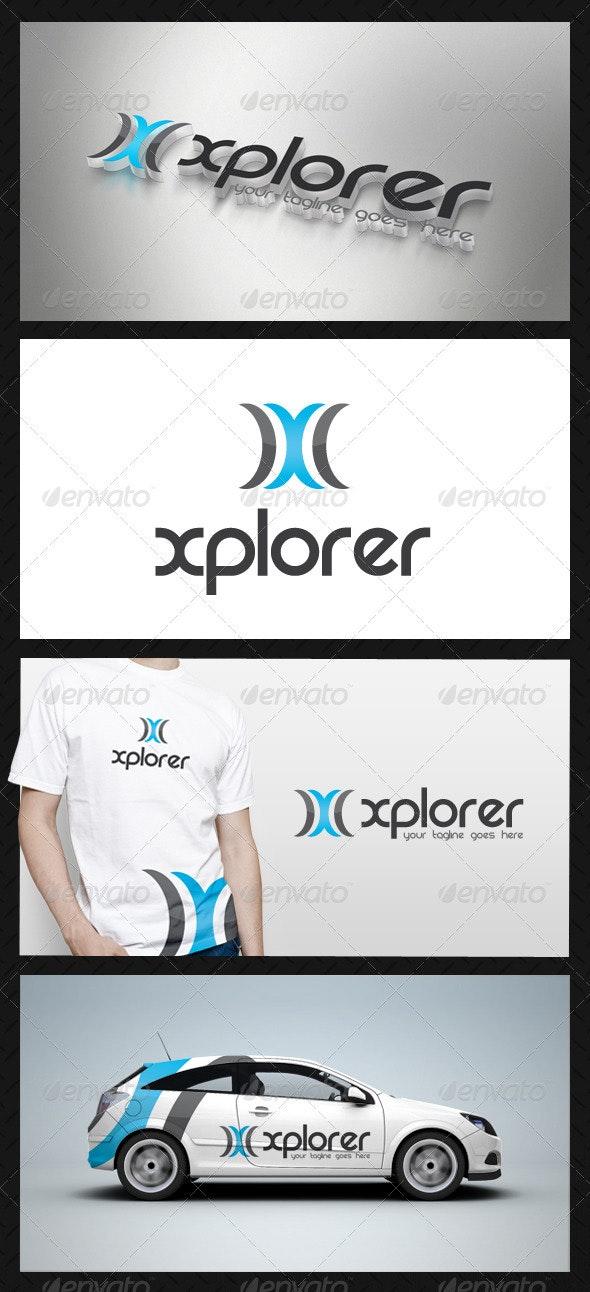 Modern Letter X Logo Template - Letters Logo Templates