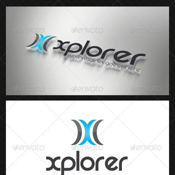 Modern Letter X Logo Template