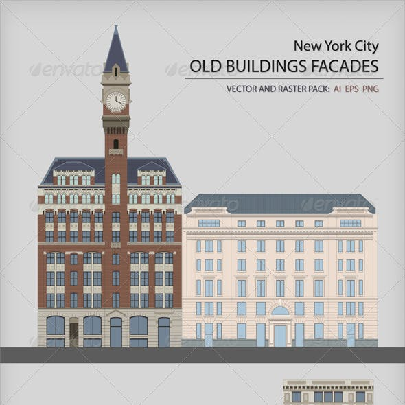 New York City Facades