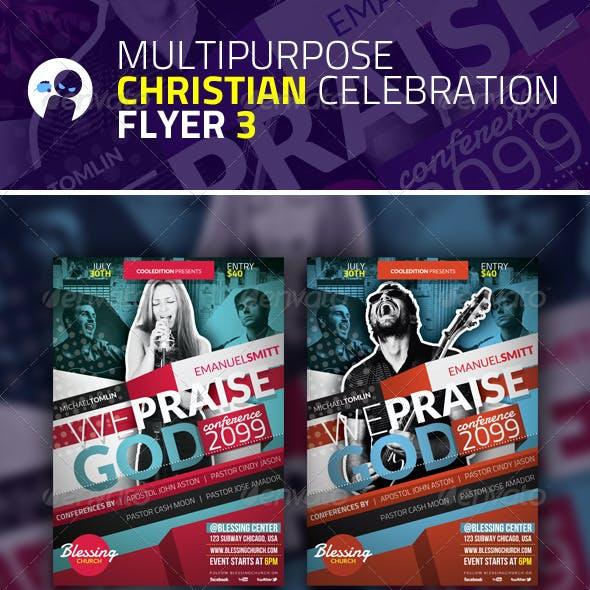 Multipurpose Christian Celebration Flyer 3