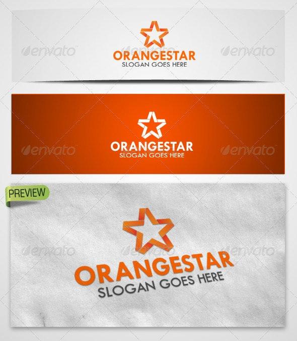 Logo Orangestar Template - Symbols Logo Templates