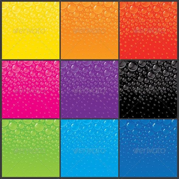 Color Bubbles Backgrounds - Backgrounds Decorative