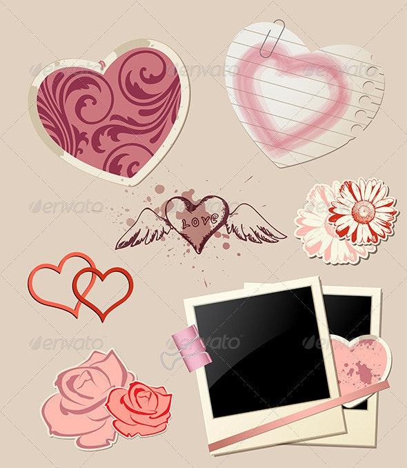 Valentine`s Day Scrapbook  - Valentines Seasons/Holidays
