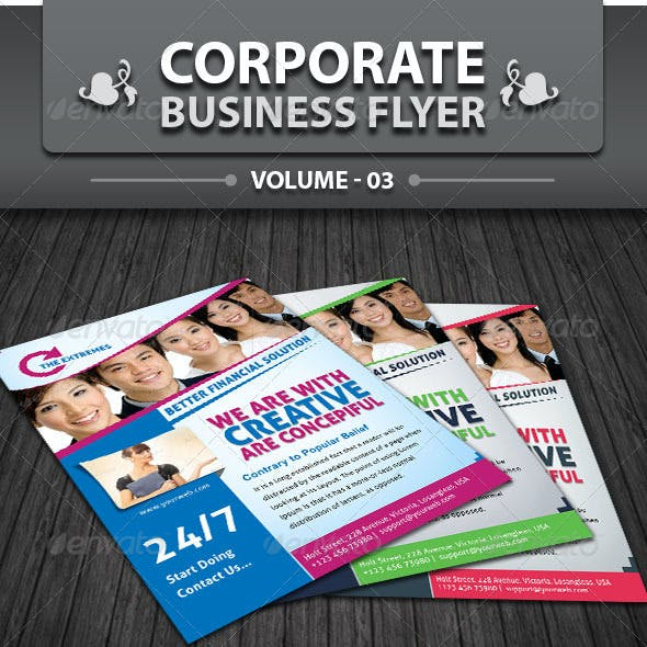 Corporate Business Flyer | Volume 3