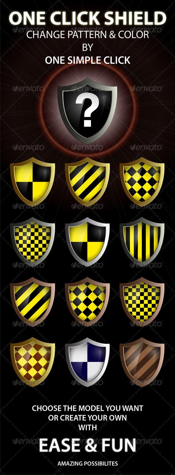 Shields - Decorative Symbols Decorative