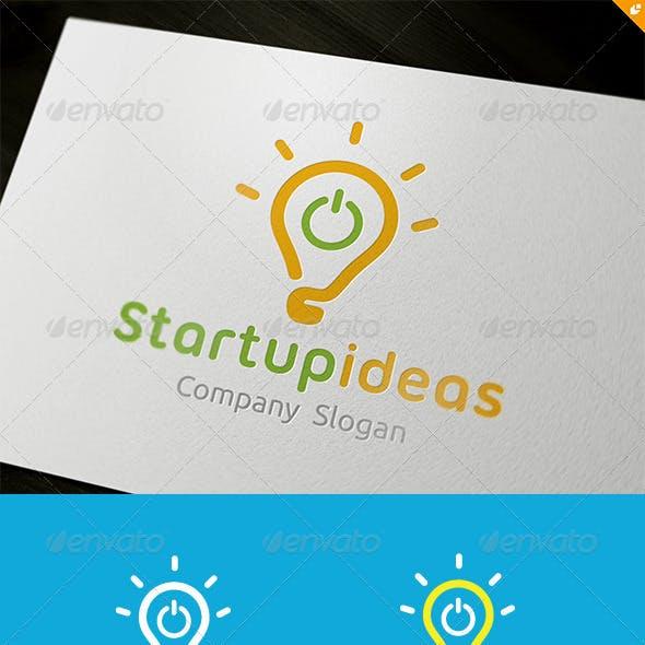 Startup Ideas Logo